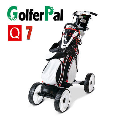 GolferPal Q7 4 wheels Electric Motorised Remote Control golf buggy cart trolley