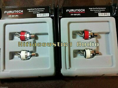Furutech  FP-901(R)High End Performance RCA sockets  Description: 100% Brand new
