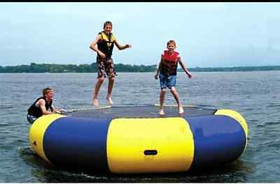 3-5M Diameter Inflatable Water Trampoline Bounce Swim Platform Lake Toy