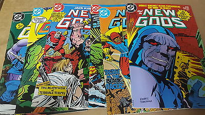 Justice League JLA comic lot the new gods 1 2 3 4 5 6 vf+ bagged