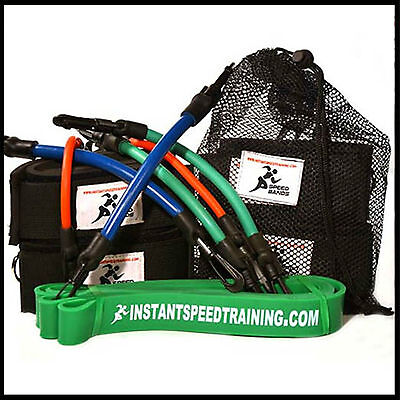 Green Power Loop Band and Speed Strong Blue Bands Best Quality Training band