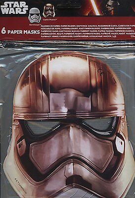 Star Wars 7 Party Masks, Pack of 6