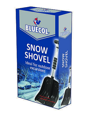 2x Bluecol Extendable Snow Shovel BES000 Genuine Top Quality NEW MULTIBUY SAVER