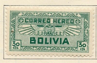 Bolivia 1932 Early Issue Fine Mint Hinged 30c. 113774