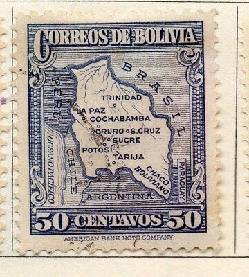 Bolivia 1935 Early Issue Fine Used 50c. 113797