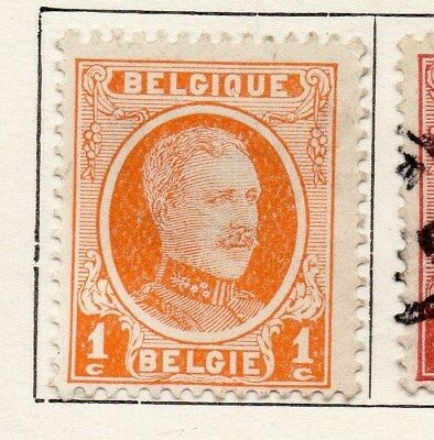 Belgium 1921-25 Early Issue Fine Mint Hinged 1c. 114986