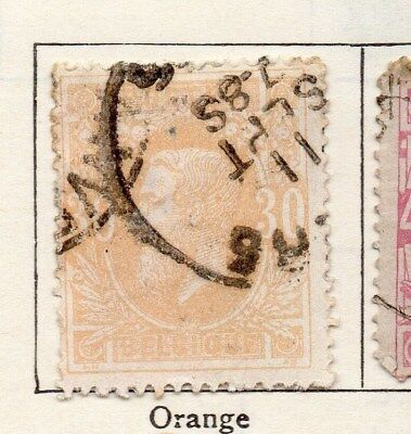 Belgium 1869 Early Issue Fine Used 30c. 115062