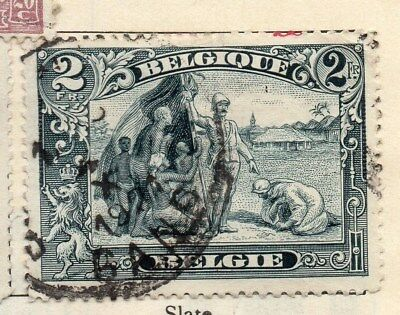 Belgium 1915 Early Issue Fine Used 2F. 114336