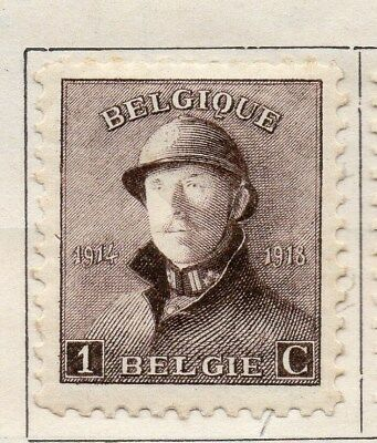 Belgium 1919-20 Early Issue Fine Mint Hinged 1c. 114341