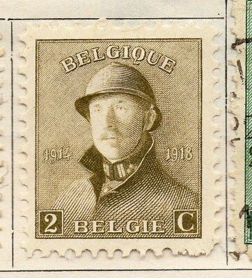 Belgium 1919-20 Early Issue Fine Mint Hinged 2c. 114342