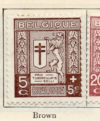 Belgium 1926 Early Issue Fine Mint Hinged 5c. 114349