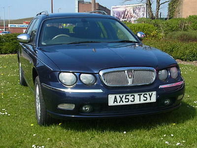 Rover 75 Tourer 1.8 Connoisseur SE PX Swap Anything Considered