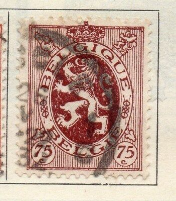 Belgium 1930 Early Issue Fine Used 75c. 114397