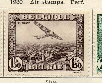 Belgium 1930 Early Issue Fine Mint Hinged 1.50F. 114448