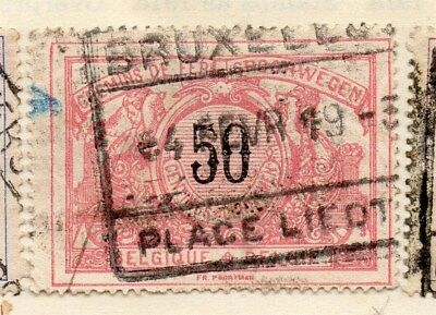 Belgium 1895 Early Issue Fine Used 50c. 114453