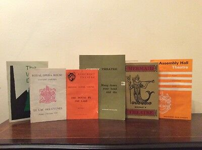 Collection Of Theatre Programmes From 1950's/60's