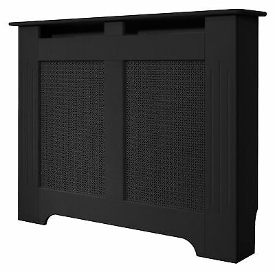 Medium Black Burford Radiator Cover, 1200mm