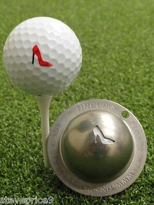 Tin Cup. Golf Ball Marker System. Gimme Choo