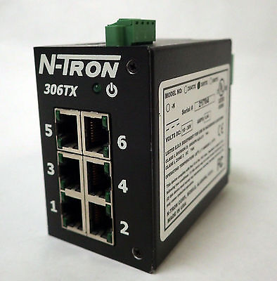 N-Tron 306Tx 6 Port 10/100Basetx Industrial Ethernet Switch