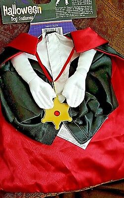 HALLOWEEN DRACULA OUTFIT FOR DOGS AND PETS by JAKKS , costume
