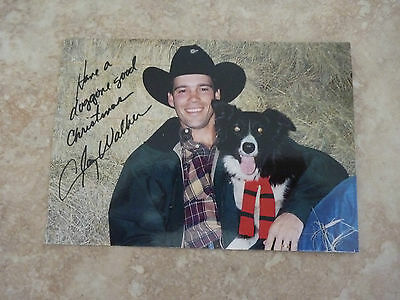 Clay Walker Fan Club Holiday Greeting Post Card Country Music 90's