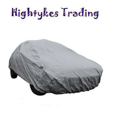 medium Full Car Cover UV Protection Waterproof Outdoor Breathable 4.3 x 1.6 mtr