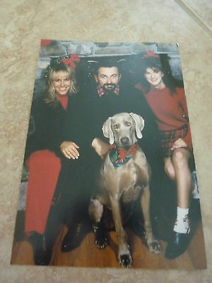 Aaron Tippin Fan Club Holiday Greeting Post Card Country Music 90's