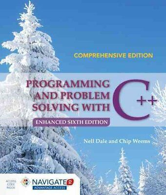 Programming and Problem Solving with C++: Comprehensive 9781284076592
