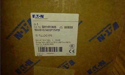 Cutler Hammer S811+R13N3S Soft Start 208 to 600 V, 3 phase 125 Hp Factory Sealed