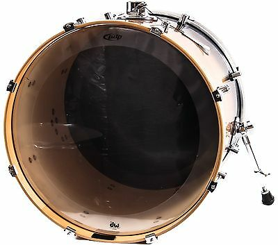 """PDP Concept Maple Bass Drum 22 X 18"""",  Natural To Charcoal Fade, NEW"""