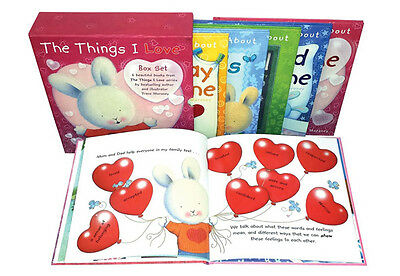 The Things I Love About Hardback 6 Book Set Collection by Trace Moroney New