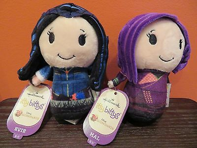 Hallmark Itty Bitty Descendants Evie & Mal-New Release- Free Shipping !!