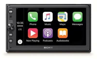 "Sony XAV-AX100 6.4"" Media receiver with Bluetooth, Apple CarPlay & Android Auto"