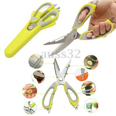 "9 Multi Function Professional Stainless Steel Scissors Kitchen Shears 9"" x 3"""