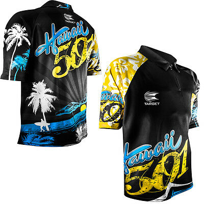 Wayne Mardle - Target Authentic Replica Dart Shirt - Hawaii 501 - XS to 5XL -