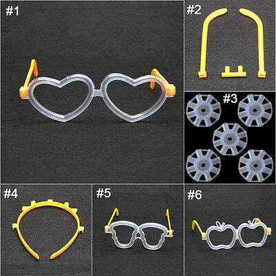 5pcs Glow Stick Headband Glasses Butterfly Connection Head Event Party Decor