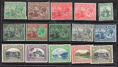 Trinidad & Tobago KGV mint and used collection (15V) WS2696