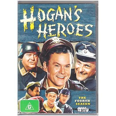 DVD HOGAN'S HEROES FOURTH SEASON 4 FOUR COMPLETE 4-Discs TV Comedy War  R4 [BNS]