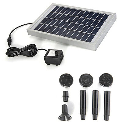GB Solar Energy Water Pump Panel for Fountain Pond 12V 380L / H