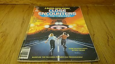 Close Encounters Of The Third Kind - Marvel Super Special - No.3