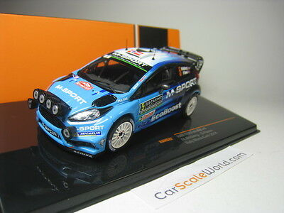 Ford Fiesta Rs Wrc #5 Rally Monte Carlo 2016 M. Ostberg 1/43 Ixo