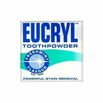 Eucryl Toothpowder | Freshmint | Powerful Stain Remover  50g 1 2 3 6 Packs