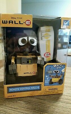 NIB Disney Wall-E Remote Control Toy Wacky Action Collectible Robot Thinkway