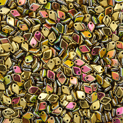 Dragon® Scale 5mm Czech Beads Alabaster Pastel Pink 9g M37//5