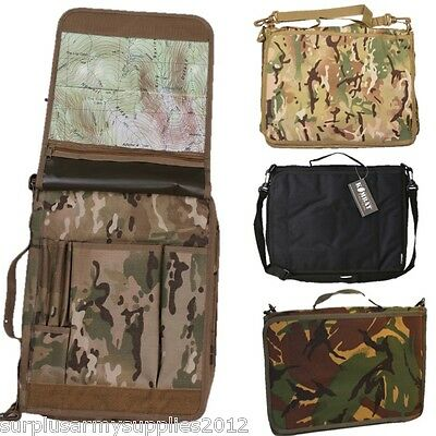 Camouflage A4 Folder Document Holder Mtp Map Case File Briefcase Orienteering
