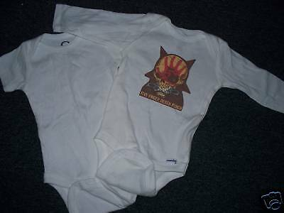 Five Finger Death Punch Onesie 3/6,6/ 9,12,or 18M Baby