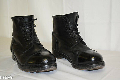 British Army - Military -  Leather Ammo Parade Dress Boots - Size 11L