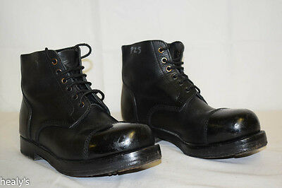 British Army - Military -  Leather Ammo Parade Dress Boots - Size 5L