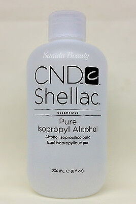 Essentials Pure Isopropyl Alcohol 236ml/8oz - Cnd