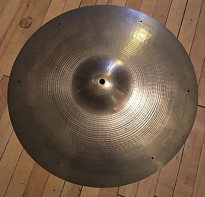 "Vintage 1960's Zildjian 18"" Rivet Crash"